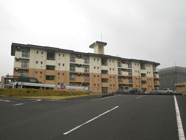 県営住宅住戸改善工事(打越団地2号棟外壁)