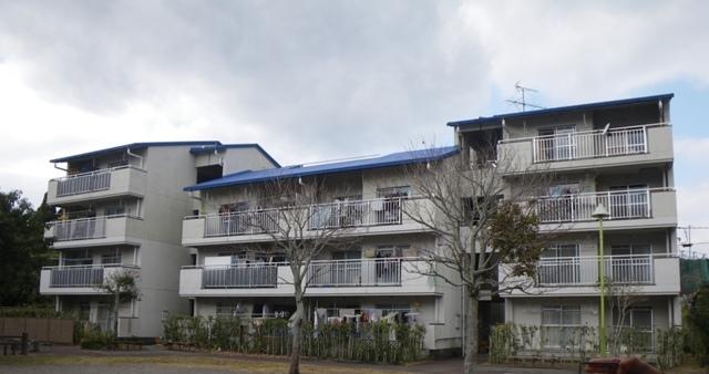 県営住宅住戸改善工事(宮ヶ浜団地5号棟外壁)