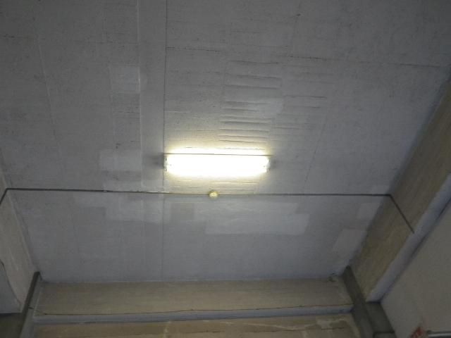 メイゾンモンテメール駐車場 天井爆裂部補修
