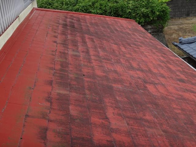 二月田鍼灸院 指宿治療院 屋根塗装工事