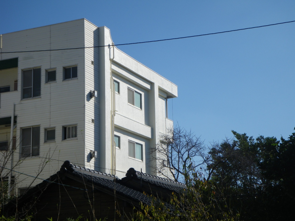 村田パークマンション西面塗装工事