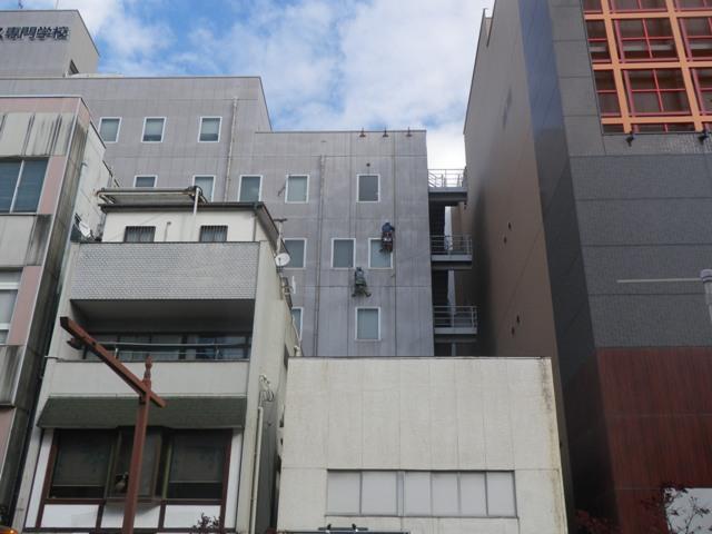 KBCC南面外壁シール打ち替え工事