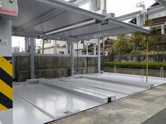 Tマンション谷山中央機械式駐車場塗装工事